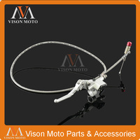 1200mm Hydraulic Clutch Lever Master Cylinder For 125cc 250cc Vertical Engine Offroad Motorcycle Dirt Bike Monkey