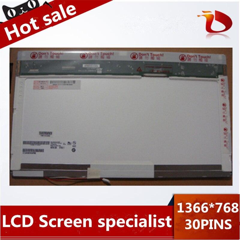 Original A+ 15.6 inch LAPTOP LCD SCREEN LP156WH1 TL C1 N156B3 claa156wa01a B156XW01 LTN156AT01 1366*768 30PINS