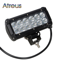 Atreus 1Pc 36W LED Work Light Bar 12V Spot LED DRL fog lamp car styling For ATV 4X4 Truck 4WD Offroad Trailer auto accessories