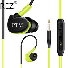 Original Brand PTM S800 Headphones Earphone Super Bass Sport Ear Hook Headset with Microphone for Mobile Phone Xiaomi Glowing