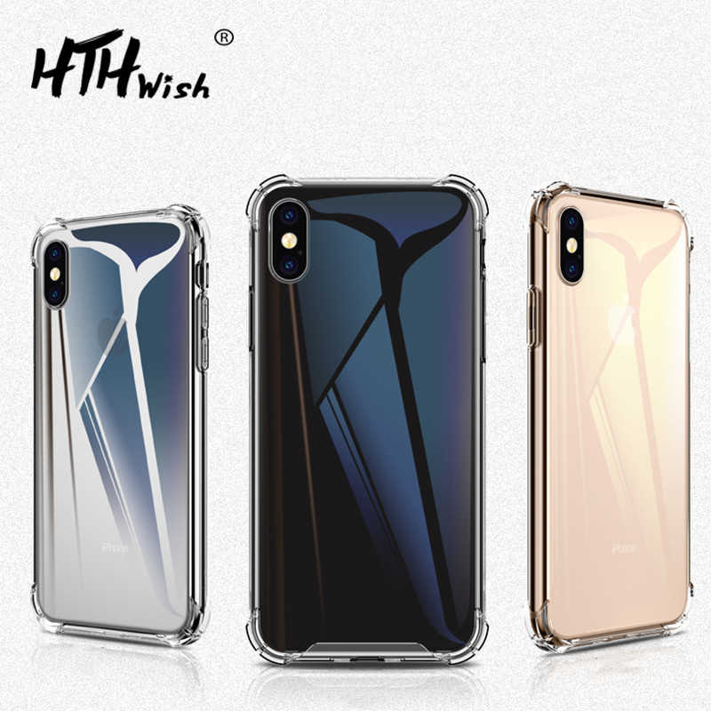 TPU Shockproof Phone case For Huawei mate 20 pro lite Y7 prime 2018 y7 y9 2019 case Honor 8X 10 9 p8 Lite Cover Soft Silicone