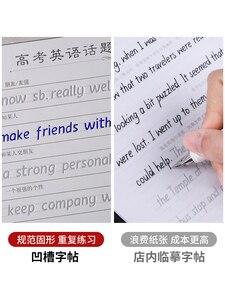 Image 3 - ليو دبوس تانغ 3 قطعة هنغشوي الكتابة الإنجليزية الخط كتاب التأليف للأطفال الكبار تمارين الخط ممارسة كتاب ليبروس