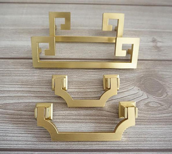 Vintage Kitchen Cabinet Pulls Handles Dresser Bail Pull Door Handles Gold Brass Drawer Pulls handle Hardware 64 96 128 mm 2 5 3 75 vintage style dresser pulls drawer handles knobs gold bronze red cabinet door pull handle furniture hardware 64 96mm