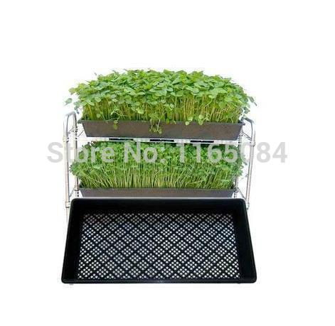 Garden supplies hot sale seedling tray sprout plate for Garden accessories sale