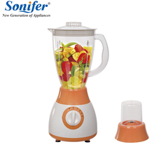 ФОТО colorful multifunction electric food blender mixer kitchen 4 speeds standing blender vegetable food blender processor duty comme