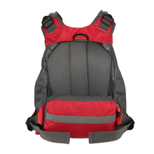 Breathable Mesh Fly Fishing Vest  11 Zippered Pockets Fishing Back Multifunction Pockets Fishing Backpack Vest