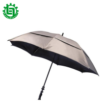62 inch Brand New Double Golf Umbrella Automatic Umbrella Anti-UV Luxury Wide Windproof Business Men Golf Car Accessories