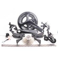 2018 последние Shimano 105 R7000 дорожный велосипед указано 2×11 s 22 s Скорость 50×34 170 мм переключения коммутатора/шатуны/переключатель/кассеты