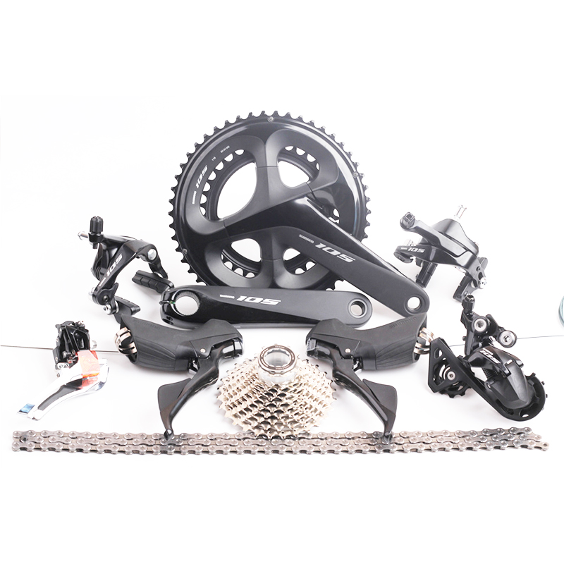 Shimano Tiagra FC-4650 Crank Arms 2x10 Pocket Silver Road Bike Crank-NEW
