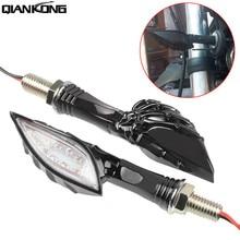 Motorcycle Turn Signal Indicators Light Universal Blinker Lamp For YAMAHA DT 125 R/TZR 250/XT 350/XT 600  KTM EXC EXCF F
