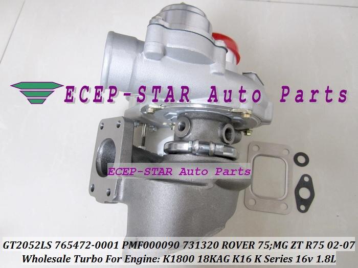 GT2052LS 731320 731320-5001 S 765472-5002 s Turbo турбины КЗПЧ для ROVER 75 для MG ZT R75 02-K-серия K16 16 В 1.8L P K1800 18KAG