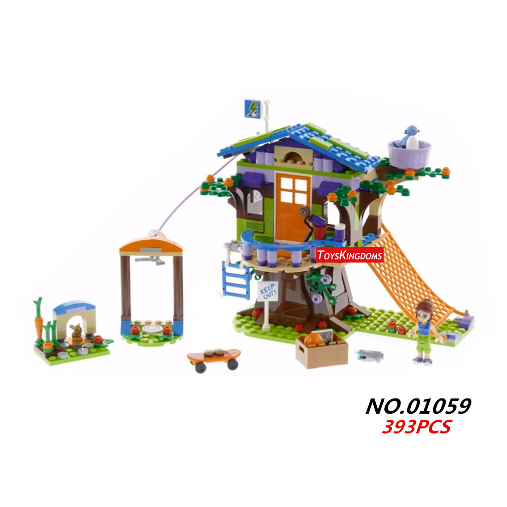 2018 New my good friends mia tree house building block daniel figures girls clubs bricks 41335 assemblage toys for gifts