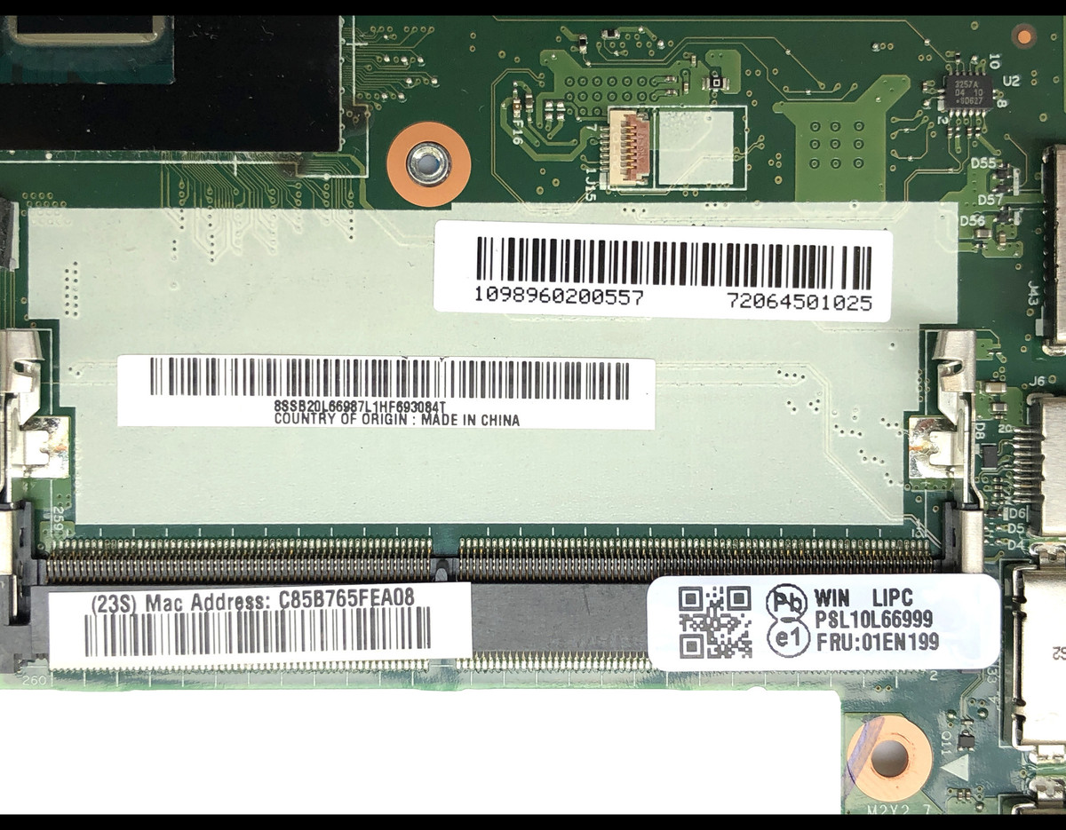 High Quality Bx260 Nm A531 For Lenovo Thinkpad X260 Laptop Motherboard With Label Computer Knowledge Diagram 907
