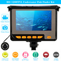 "KKmoon 4.3"" TFT LCD Fishing Camera Kit Fish Finder HD 1200TVL Night Vision Underwater Video Camera System With 8G TF Card"