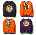 Free shipping 2017 New arrival Dragon Ball Z sweatshirt Goku Cosplay Costumes Japanese anime Pullover 011202