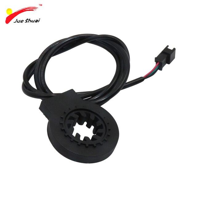 JS Free Shipping PAS Pedal Assist Sensor KT-V12L KT V12 V12L 6 Magnets Dual Hall Senssors 12 Signals Easy to Install on the Left