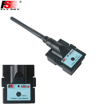 цена на FS-RM003,1pcs Flysky FS-RM003 2.4G Transmitter Module with Antenna Compatible AFHDS 2A Only For FS-TH9X Transmitter