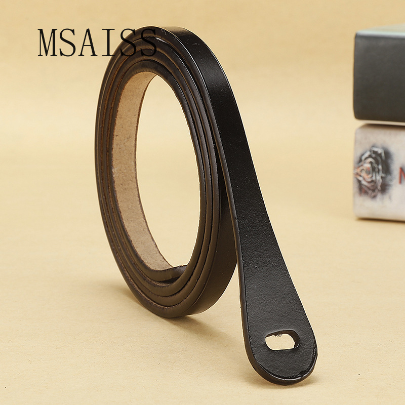 Real Cowskin Minimalism Women Belt Designer Belts  Luxury Brand Womens Leather Belts
