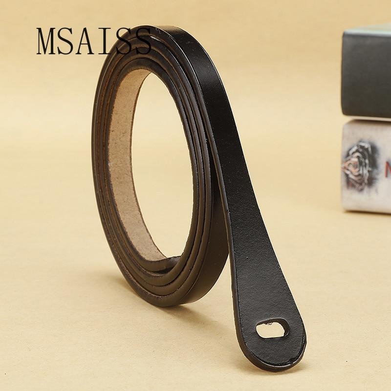 Real Cowskin Minimalism Women Belt Designer Belts  Luxury Brand Womens Leather Belts