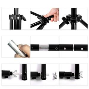 Image 5 - 2 * 3m / 6.5 * 10ft Adjustable Aluminum Photo Background Support Stand Photography Backdrop Crossbar Kit TB 20