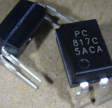 100pcs/lot PC817C PC817 EL817 DIP-4 transistor output optocoupler . In Stock