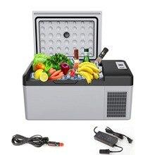 Портативный компрессор холодильник морозильник для автомобиля и дома 12 В/24 В DC автомобильный холодильник замораживание для домашнего путешествия-20 градусов авто охлаждение