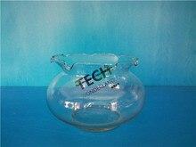 18x12.5CM Glass Aquarium Fish Tank Fishbowl For Fish Flower Plants Aquarium Home Decoration Fish Tank 1 PCS