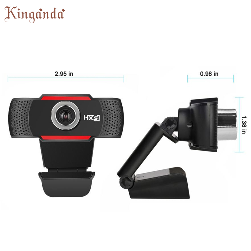 Webcam HD 720P Megapixels USB 2.0 Camera with MIC for Computer PC Laptops Camara Web Drop shipping 17Aug11