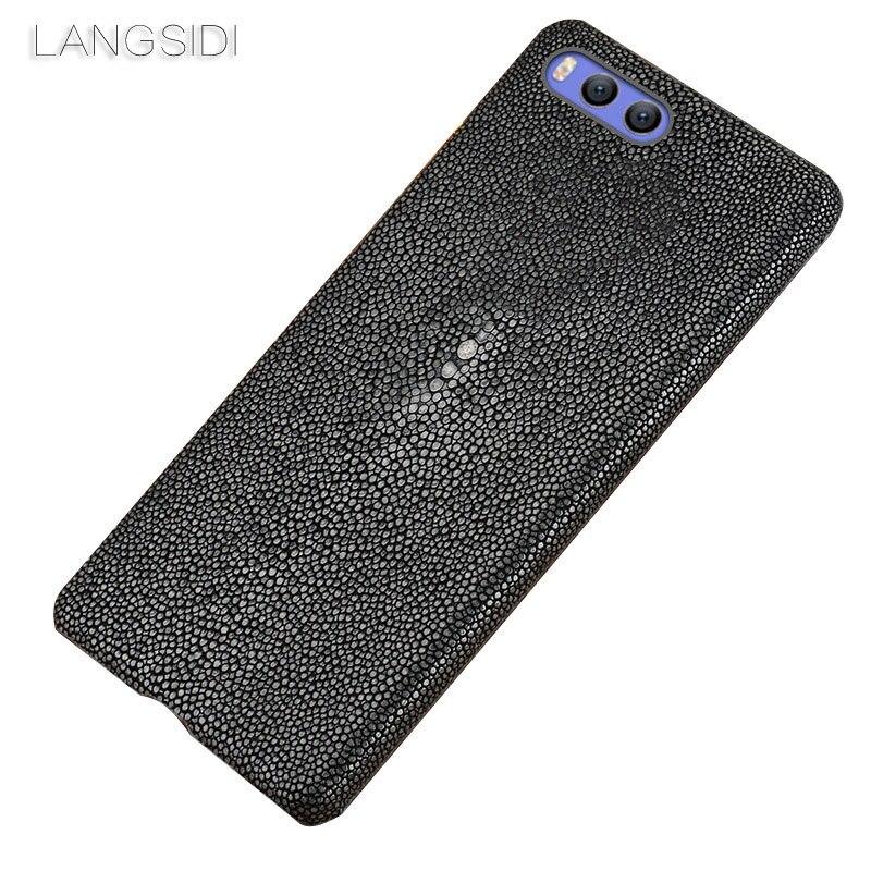 Wangcangli marque étui de téléphone portable perle poisson demi-paquet étui de téléphone pour Xiaomi mix2 coque de téléphone à la main traitement personnalisé
