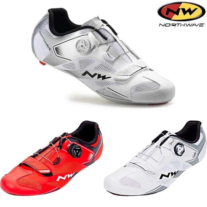 mejor lugar para el precio se mantiene estable diseño popular € 98.33 8% de DESCUENTO|Northwave Sonic 2 Plus bicicleta de carretera  ciclismo zapatos SPD SL ventilación CarbonNW bloqueo zapatos NW-in  Zapatillas de ...