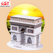 3D stereo DIY toy from Triumphal Arch lepin puzzle toys  Model Building Kits Model set Toys For Children Compatible With gift