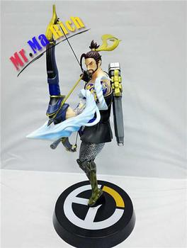 Game Figure 35cm Hanzo Pvc Action Figure Collectible Model Toys Doll Gift