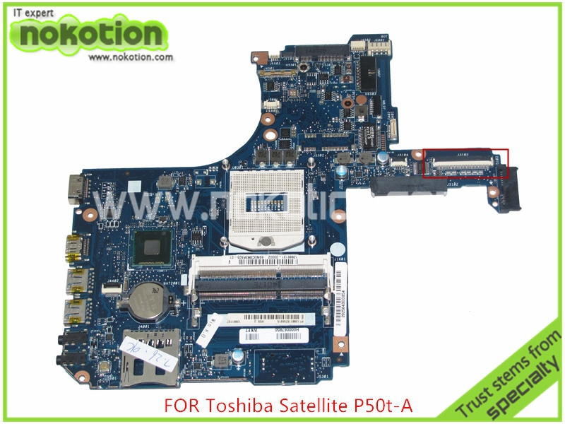 NOKOTION VGS MB Rev 2.1 H000067850 For Toshiba satellite P50T P50T-A L50 L55 Laptop motherboard DDR3L HD5000 HM86 15 6 touch screen digitizer glass replacement for toshiba satellite p50t b series p50t b 10t p50t b 11d p50t b y3111