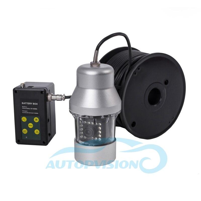 F08S 100 м кабель с камерой подводная камера видео Водонепроницаемая 360 подводная камера обнаружения для обнаружения колодца/озера