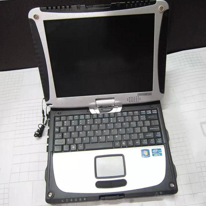 Sonnig 2019 Auto Diagnose Computer Toughbook Cf19 Laptop 2g Ram & Bildschirm Drehen Zweite Hand Arbeitet Für Mb Star C3 C4 C5 Für Bmw Icom A2 Gut FüR Energie Und Die Milz