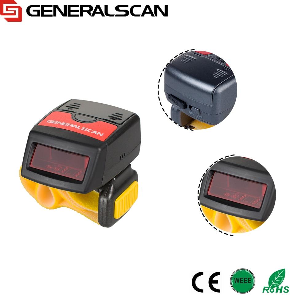 Best продавец Generalscan GS R1000BT 1D носимых кольцо сканер штрих-кода ...