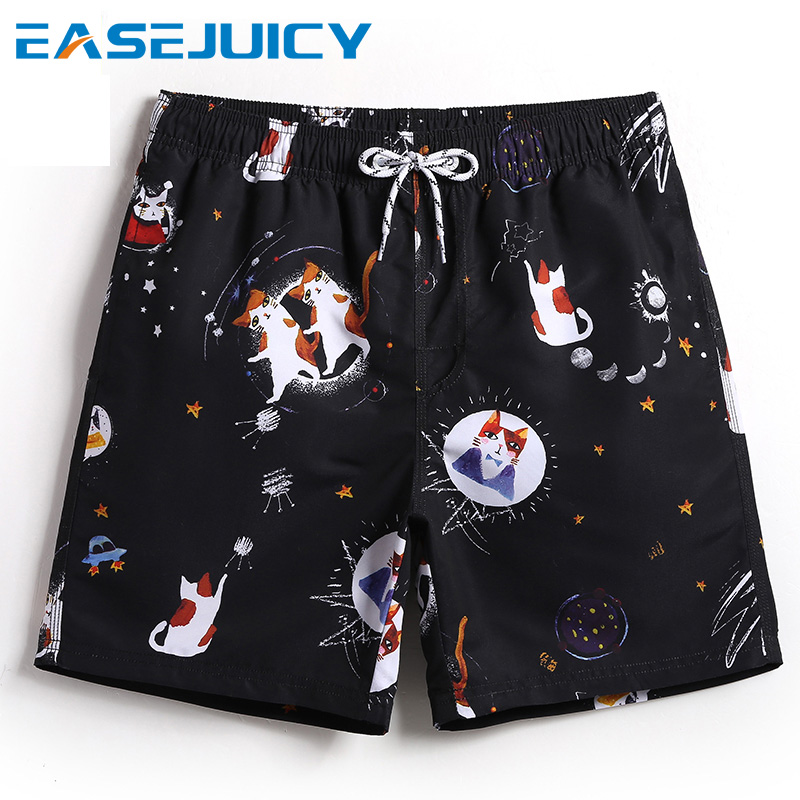 New Couple's bathing suit   board     shorts   joggers swimsuit plavky quick dry pareja swimwear surfboard loose suit briefs mesh
