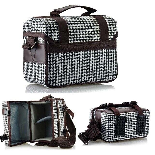 Camera Shoulder Bag Case For Canon EOS 500D 550D 600D 650D 700D 1000D 1100D 1200D 60D 70D 6D 7D 5D Rebel T3i T4i T5 T5i