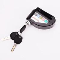 Do Promotion! Newest Motorcycle Lock Disc Brake 110dB Alarm Sound Durable Anti theft For Bike Motorbike