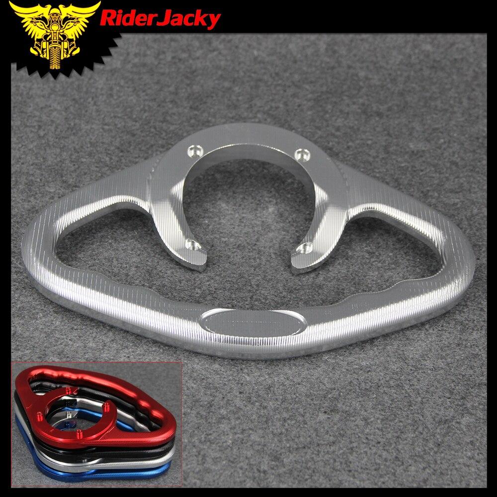 Motorcycle Passenger Tank Grab Bar Handle Armrest For Suzuki GSX600 GSX 600 1998 2006 1999 2000
