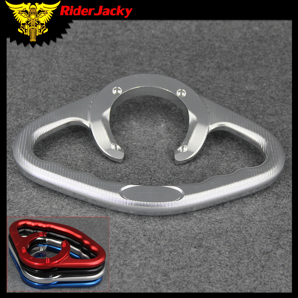 Motorcycle Passenger Tank Grab Bar Handle Armrest For Suzuki GSX600 GSX 600 1998 2006 1999 2000 2001 2002 2003 2004 2005-in Covers & Ornamental Mouldings from Automobiles & Motorcycles    1
