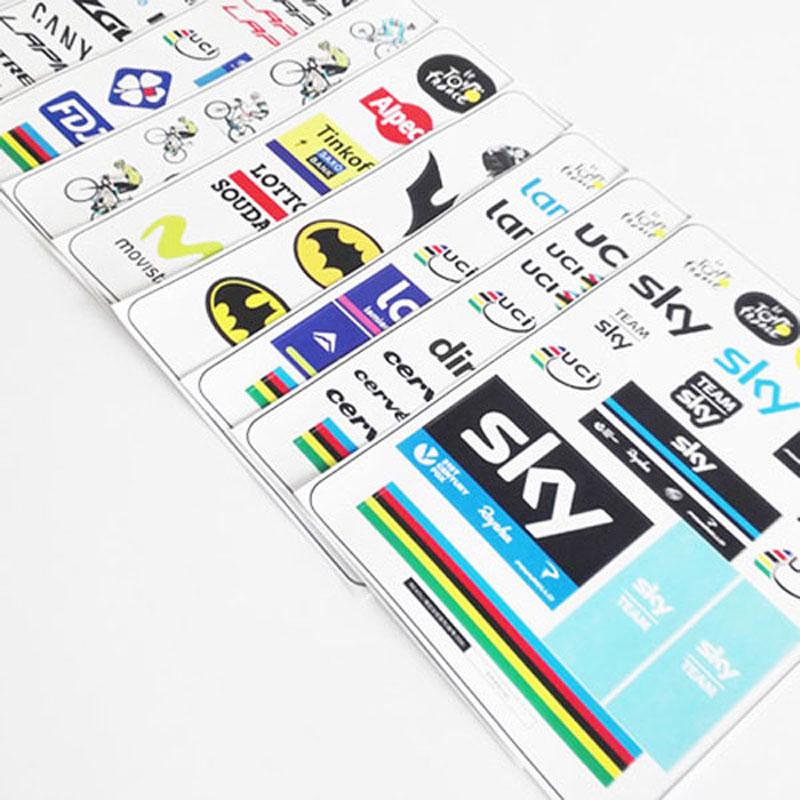Tour de France rennrad aufkleber wasserdicht sun rahmen aufkleber ...