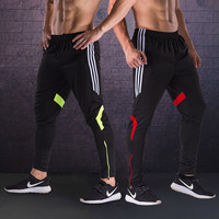 2018 New Soccer Training Pants Men With Pocket Football Trousers Jogging Fitness Workout Running Sport Pants