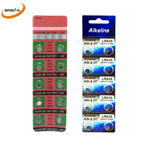 купить SRISAN 10pcs /1card  AG4 Button Cell Batteries 1.55V LR626 LR66 377 SR626SW 177 Cell Watch Toys Remote Camera Wholesales дешево