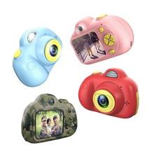 2-Дюймовая мини-камера LSR 2 МП 1080 P, цифровая камера для детей, анти-встряхивание, распознавание лица, видеокамера, поддержка TF карты