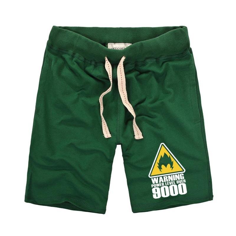 Summer Men Shorts Pure Cotton Casual Male Short Pants Men Anime Dargon Ball Printed Shorts Bermuda Masculina Compression Shorts