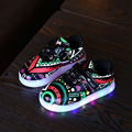 Fashion Kids Sneakers Boy Girls Children shoes USB Charging Luminous Lighted Sneakers Colorful Glowing Sneakers Children Shoes