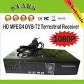 Novo HD PVR Digital Terrestre MPG4 H.264 1080 P DVB T2 Sintonizador DVB-T2 Receptor de TV Com USB, Atacado Livre grátis Dropshipping