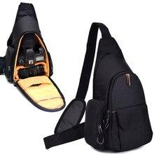 Camera Shoulder Bag Backpack Messenger Bag Chest Bag For Canon EOS 200D 77D  70D 1300D 1200D 1100D 600D 650D 7D 760D 750D 700D 864f7ee51cf45