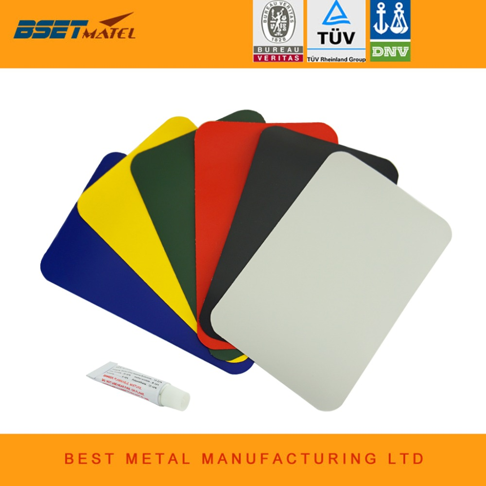 200*130mm Inflatable Plastic Boat Kayak Special PVC Repair Patch Kit Waterproof Patch Glue Rib Canoe Dinghy Air Bed with glue flat panel display